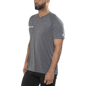 Skins Plus Vector Camiseta Running Hombre, black/marle